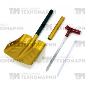 Лопата разборная с пилой (оранжевая) SC-12500GL-6