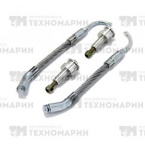 Скребки для охлаждения склизов с адаптерами (25 мм)  SM-12489K-1
