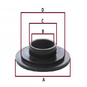Втулка пластмассовая для катка 04-116-47