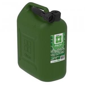 Канистра для бензина 20л с заливным устройством PROFI