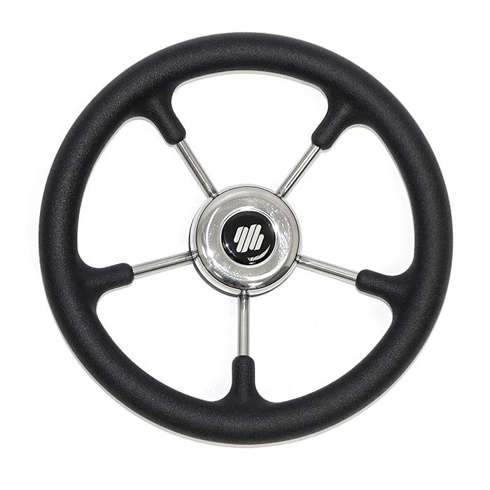 Колесо рулевое черное